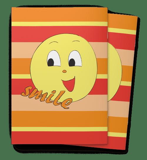 מחברות-אימוג'י שמח