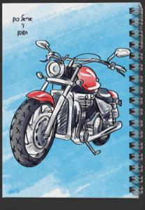 מחברת-ספירלה-אופנוע