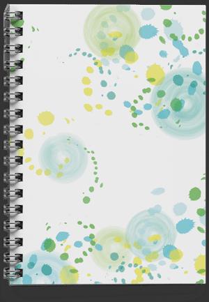 מחברת-ספירלה-כתמי-צבע-ירוקאחורי