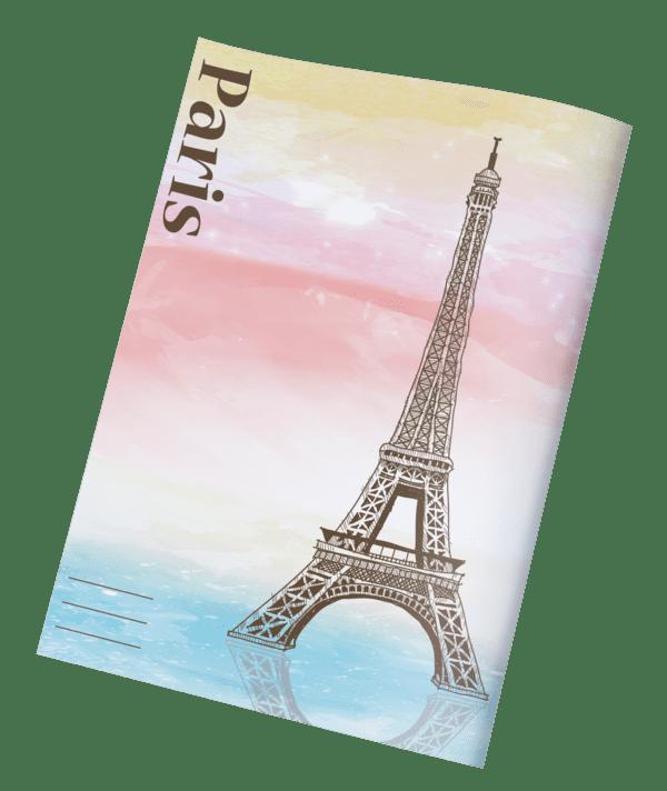 עטיפות למחברת ארצות פריז