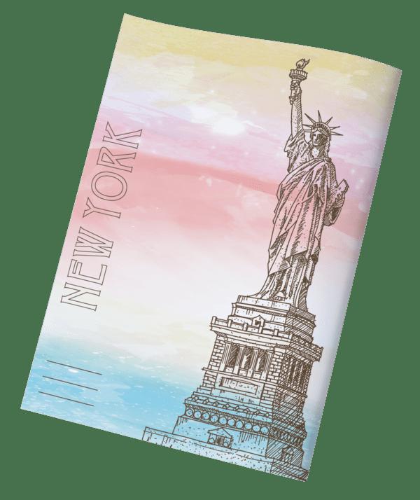 עטיפות למחברת ארצות ניו יורק