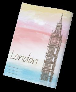 עטיפות למחברת ארצות לונדון