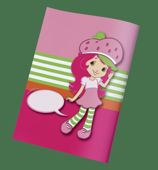 עטיפות למחברת תותית
