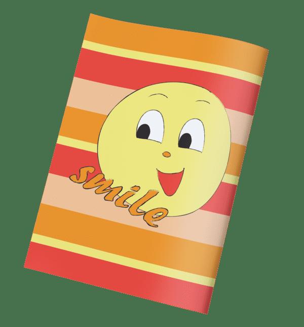 עטיפות למחברת אימוג'י שמח